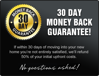 30 day money back guarantee - no questions asked!