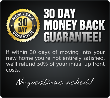 30 Day Money Back Gurantee- no questions asked!