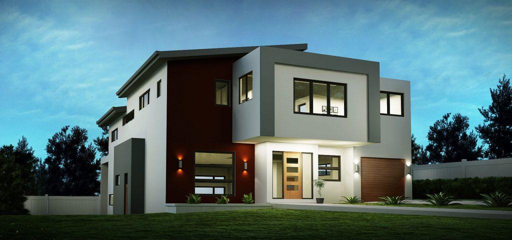 sloping house block designs