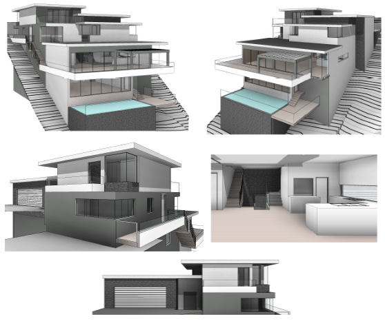 SLOPING SITE DESIGNERS MELBOURNE